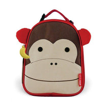 Skip Hop Zoo Lunchies Insulated Lunch Bag Monkey - Cubox Australia