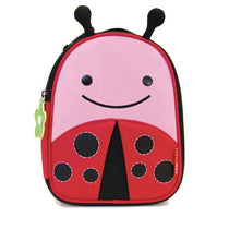 Skip Hop Zoo Lunchies Insulated Lunch Bag Ladybug - Cubox Australia