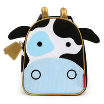 Skip Hop Zoo Lunchies Insulated Lunch Bag Cow - Cubox Australia