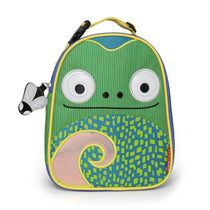 Skip Hop Zoo Lunchies Insulated Lunch Bag Chameleon - Cubox Australia