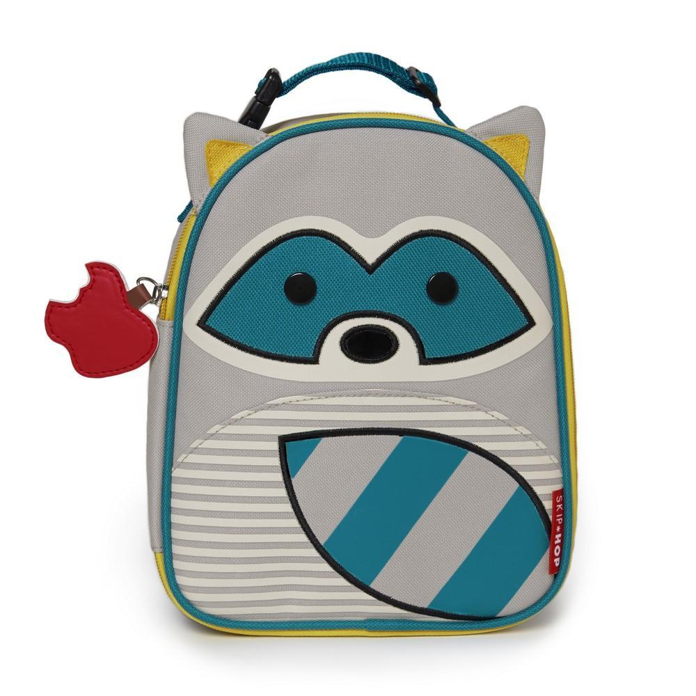 Skip Hop Zoo Lunchie Insulated Lunch Bag Raccoon