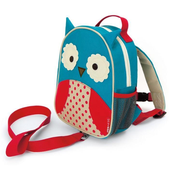 Skip Hop Owl Zoo-Let Mini Backpack with Rein