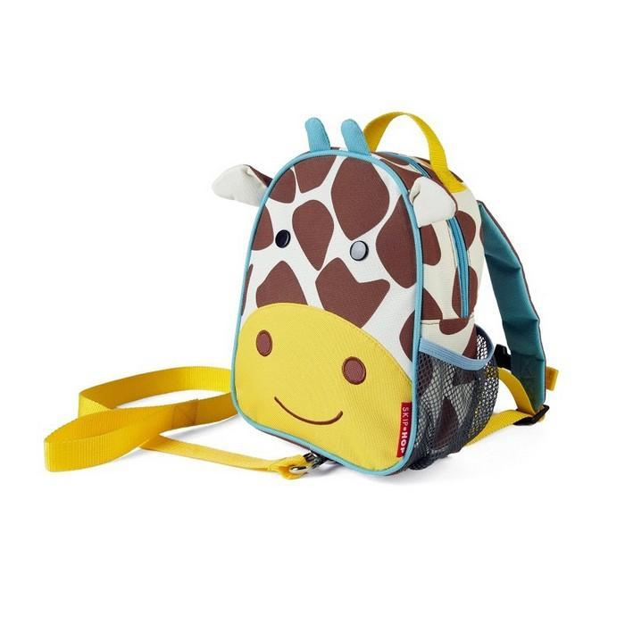 Skip Hop Giraffe Zoo-Let Mini Backpack with Rein