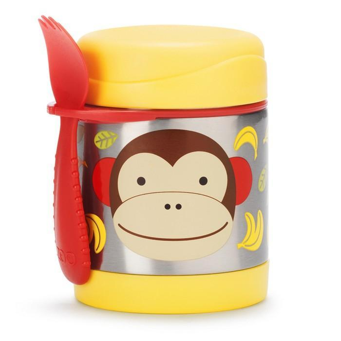 Skip Hop Zoo Insulated stainless steel Food Jar Monkey