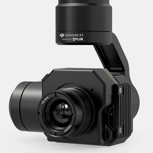 DJI Inspire Zenmuse XTR Advanced Radiometry Thermal Imaging Camera and 3-Axis Gimbal - Cubox Australia
