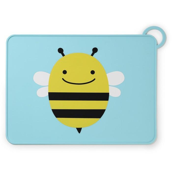Skip Hop Zoo Fold And Go Placemat Bee