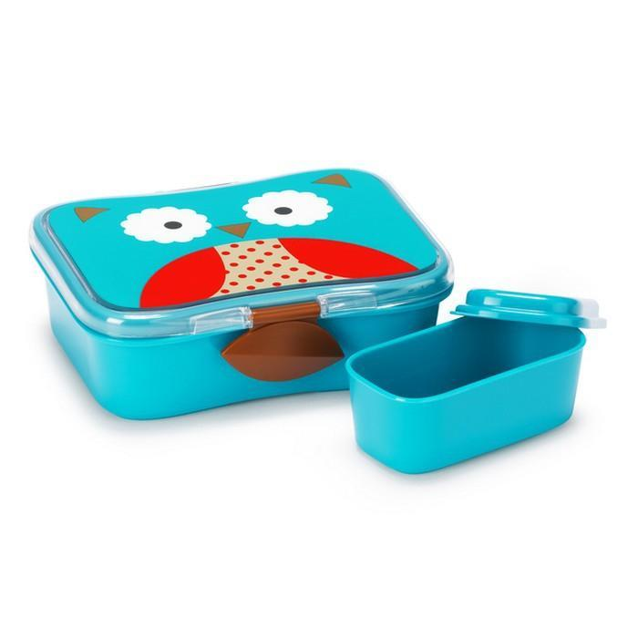 Skip Hop Zoo kids Lunch Kit Owl