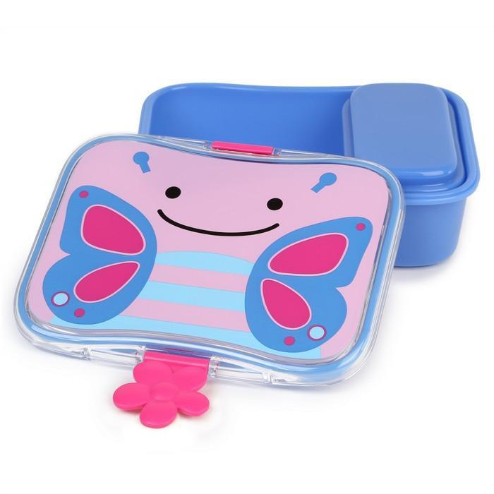 Skip Hop Zoo kids Lunch Kit Butterfly