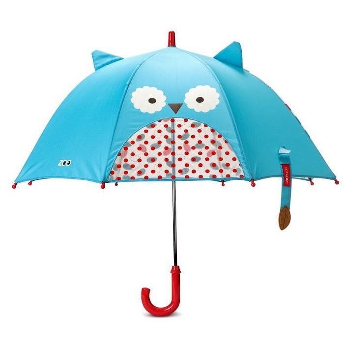 Skip Hop Zoobrella Little Kid Umbrella Owl - Cubox Australia