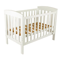 Bebe Care Baby Oxford Cot White - Cubox Australia