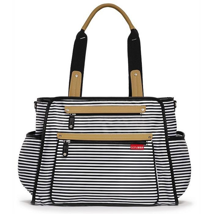 Skip Hop Grand Central Take-it-all Diaper Bag Stripe