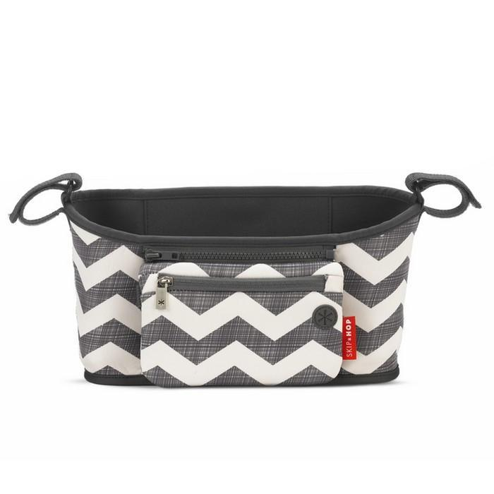Skip Hop Grab and Go Stroller Organizer Chevron