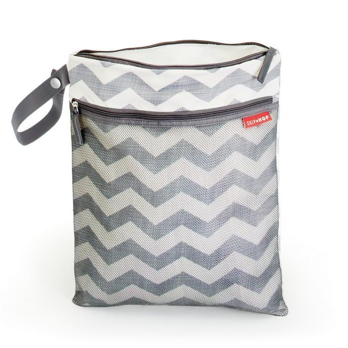 Skip Hop Grab and Go Wet Dry Bag Chevron