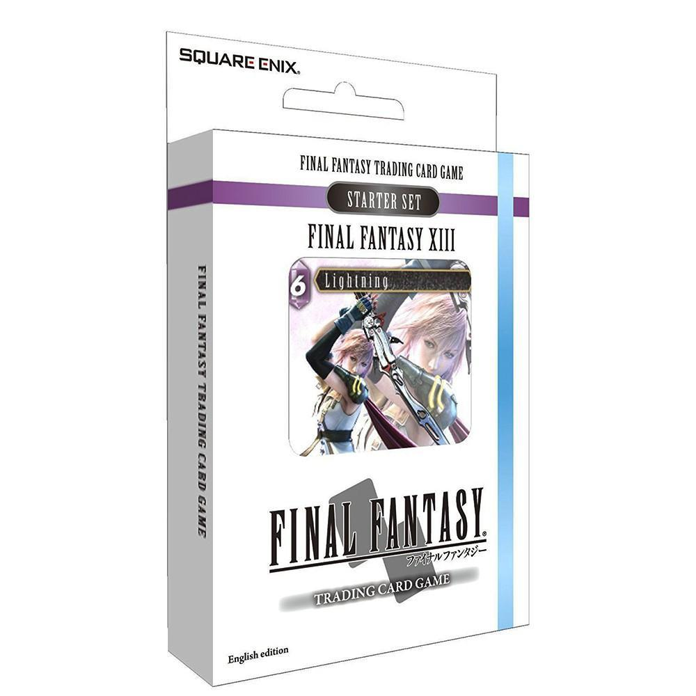 Final Fantasy Trading Card Game Starter Set Final Fantasy 13