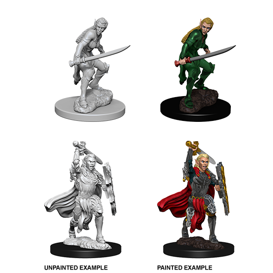 Dungeons & Dragons Nolzur's Marvelous Miniatures Female Elf Fighter