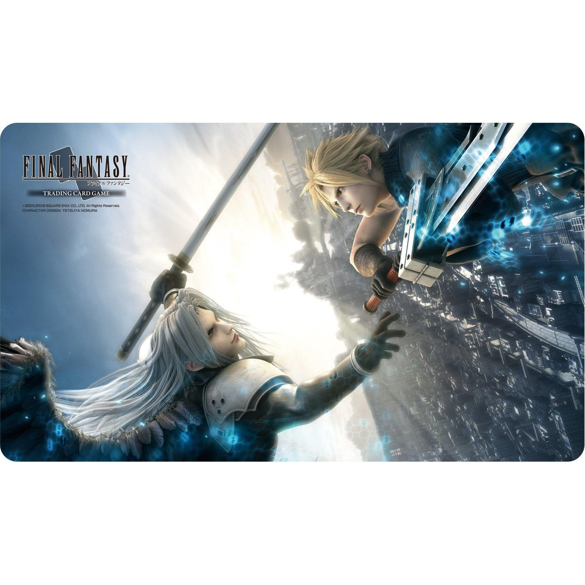 Final Fantasy TCG Play Mat FFVII Advent Children Cloud/Sephiroth