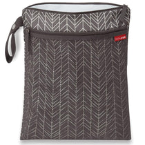 Skip Hop Grab and Go Wet Dry Bag Grey Feather - Cubox Australia