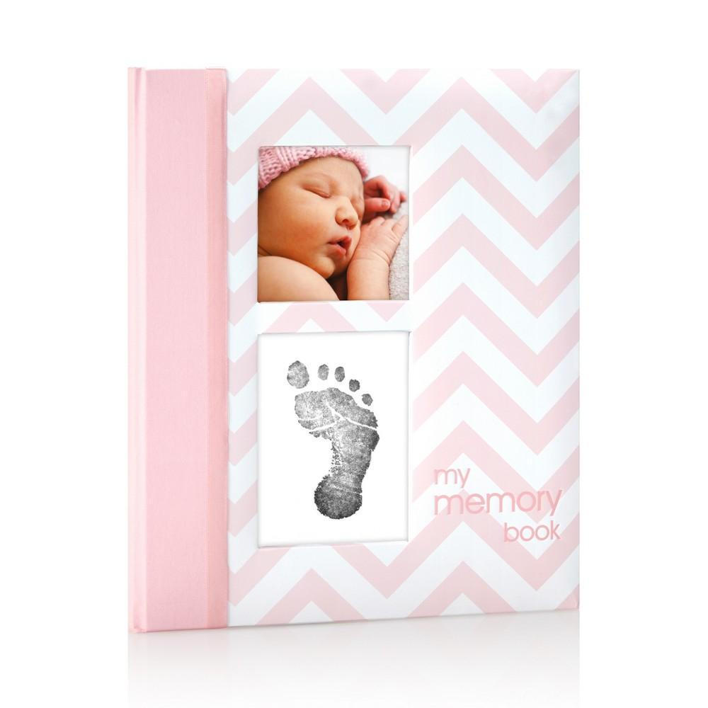 Pearhead - Baby Book Chevron - Pink