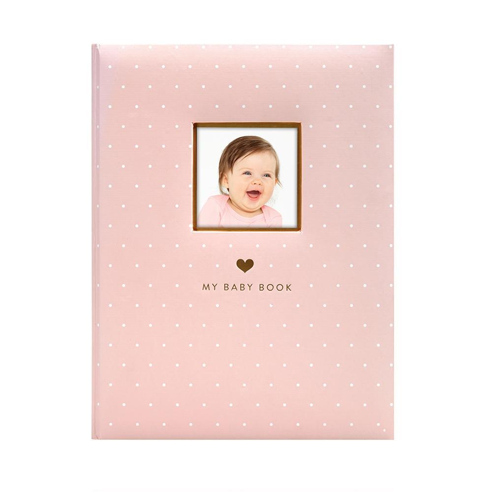 Pearhead - Sweet Welcome Baby Book - Pink