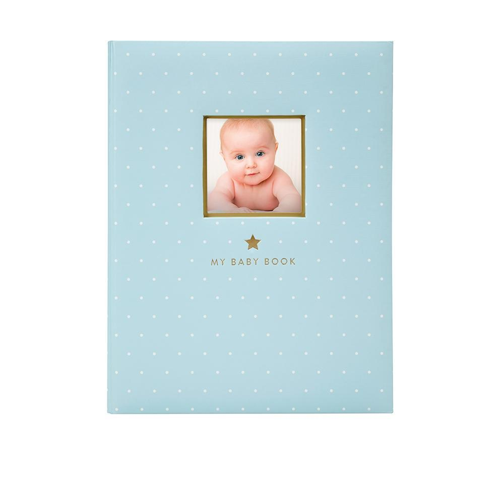 Pearhead - Sweet Welcome Baby Book - Blue