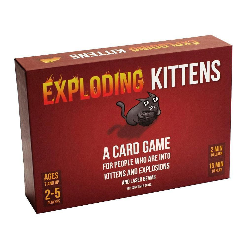 Exploding Kittens First Edition Meow Box - Cubox Australia