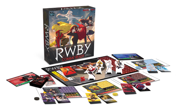 RWBY - Combat Ready Board Game-Cubox Australia