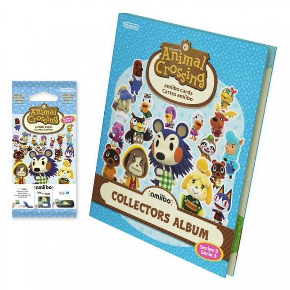 Nintendo Amiibo - Animal Crossing - Series 3 Card Album