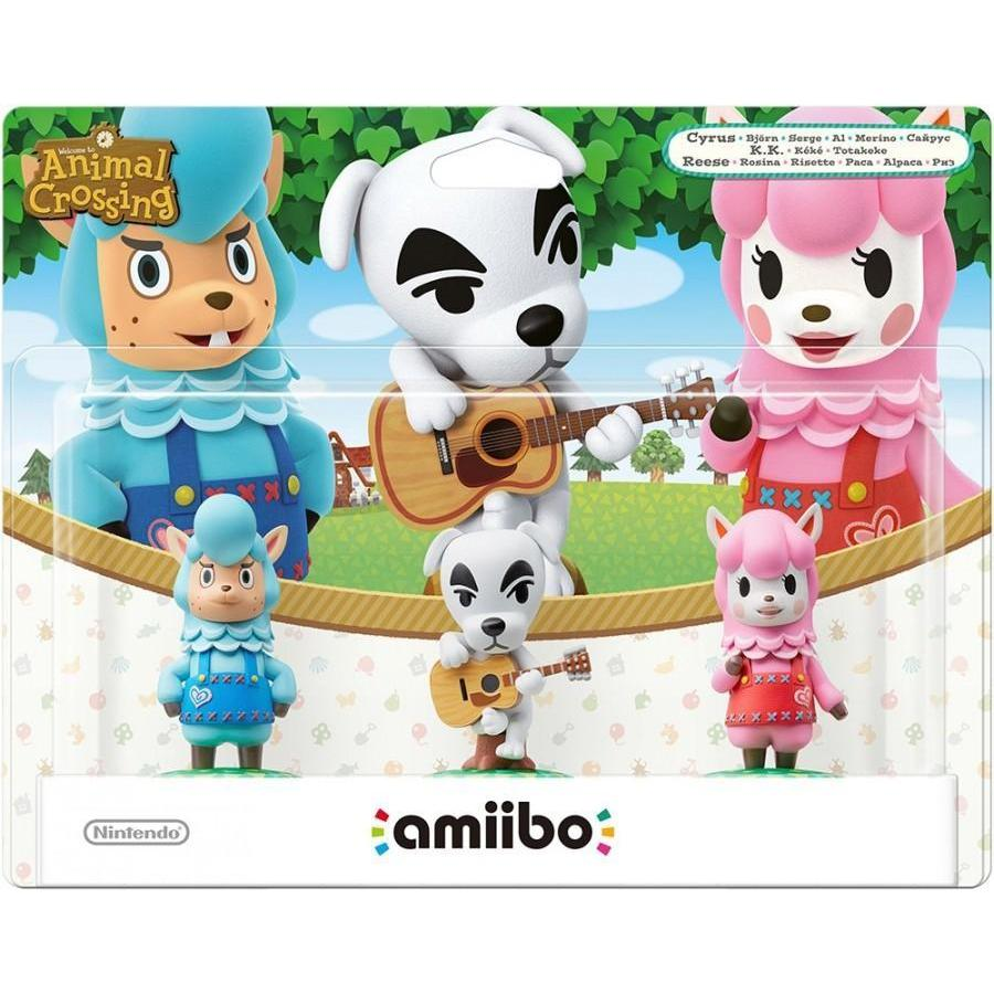Nintendo amiibo Animal Crossing Triple Pack