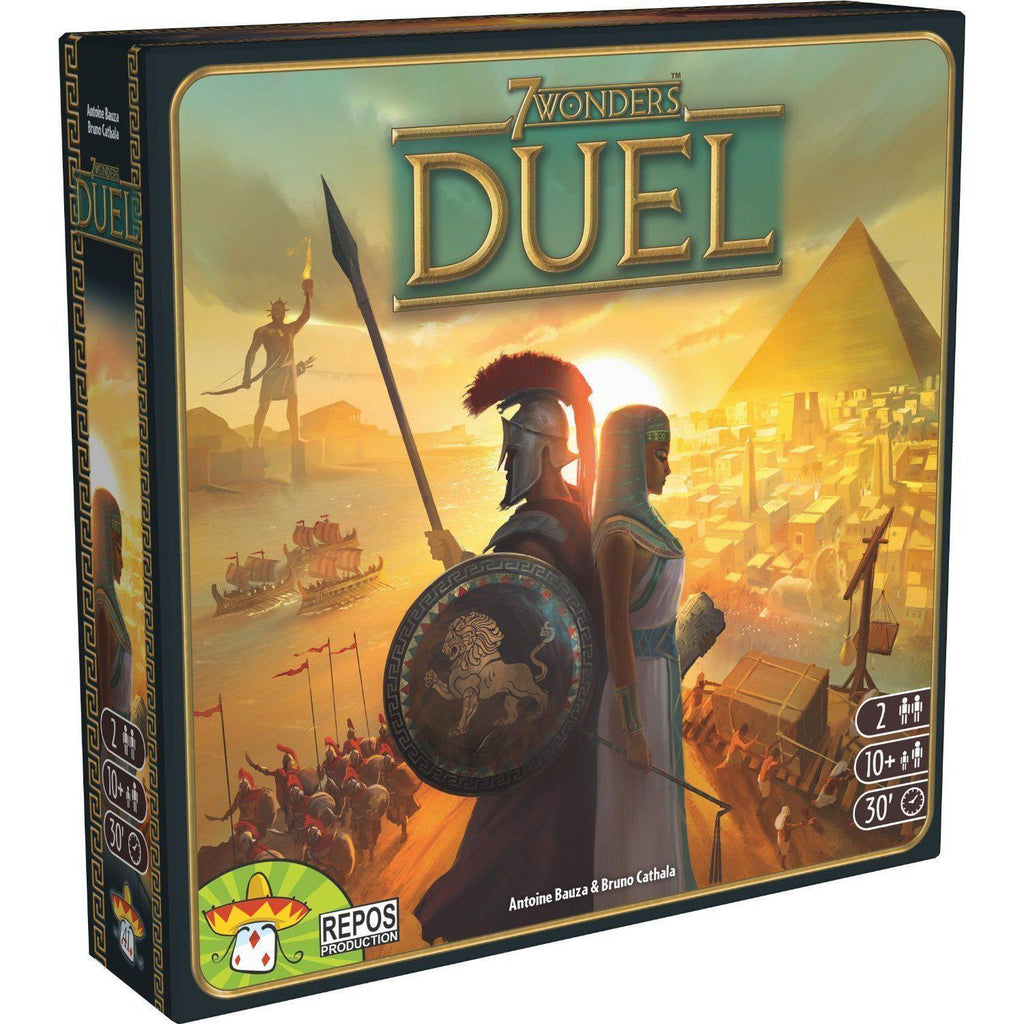 7 Wonders Duel - Board Game - Cubox Australia