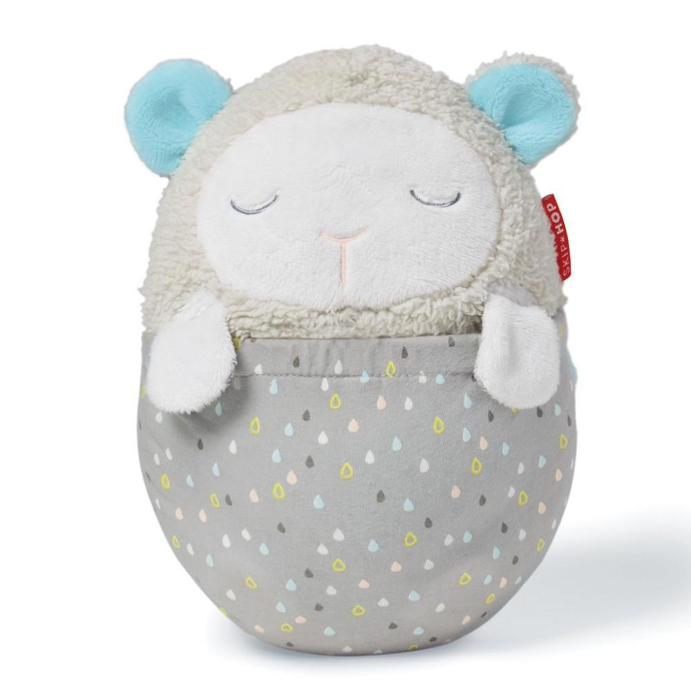 Skip Hop Moonlight and Melodies Hug Me Projection Soother Lamb - Cubox Australia