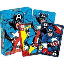 Marvel Captain America Comics Playing Cards - Cubox Australia