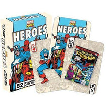 Marvel Heroes Retro Playing Cards - Cubox Australia