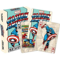 Marvel Captain America Playing Cards - Cubox Australia