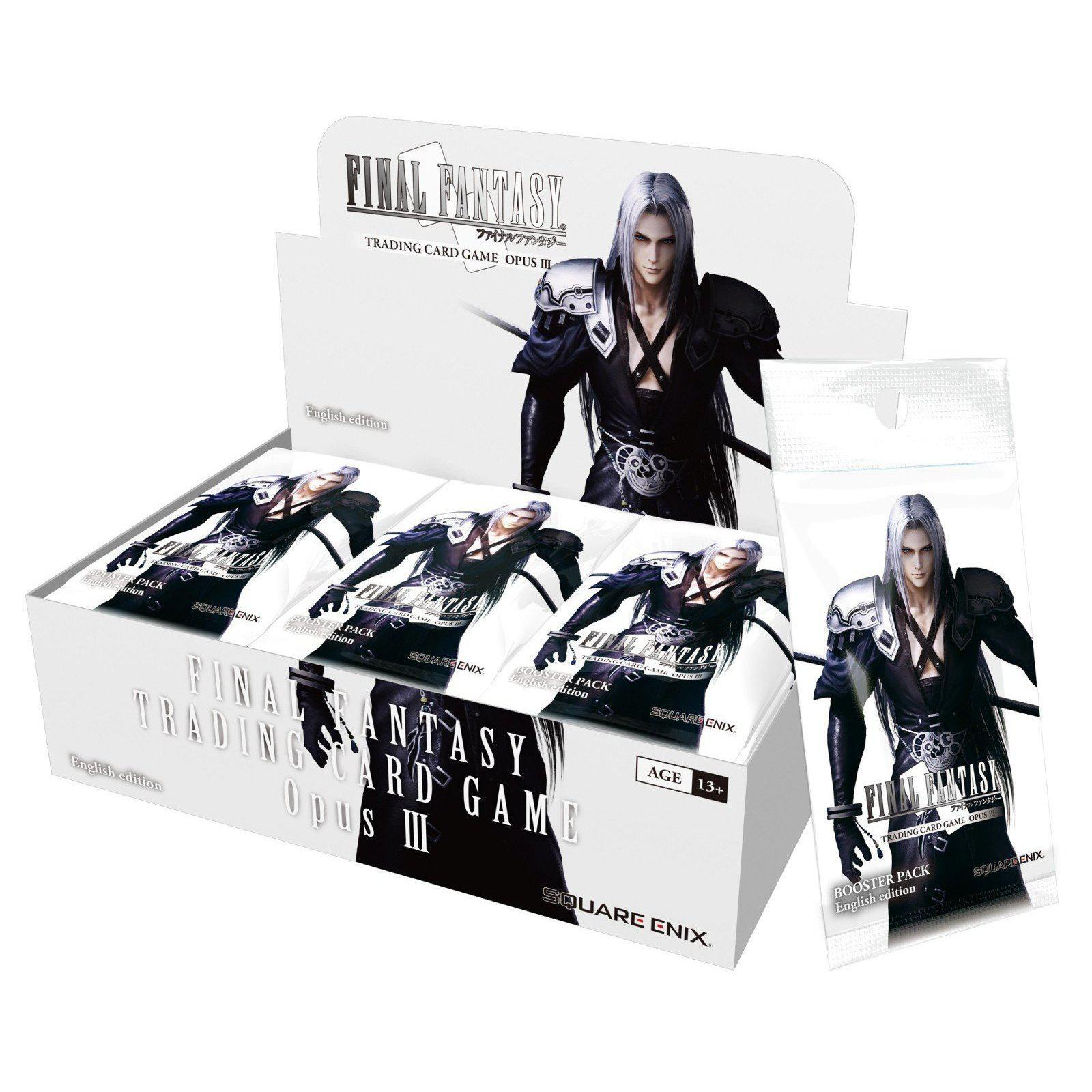 Final Fantasy Trading Card Game Opus III Booster Display