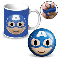 Marvel Captain America Coffee Mug & Stress Ball - Cubox Australia