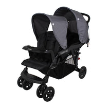 Childcare Two Up Tandem Stroller - Thunder Road - Cubox Australia