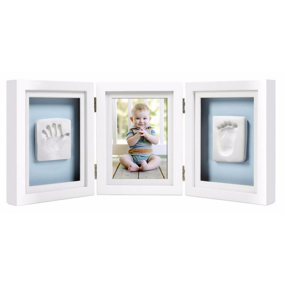 Pearhead Babyprints Deluxe Desktop Frame White