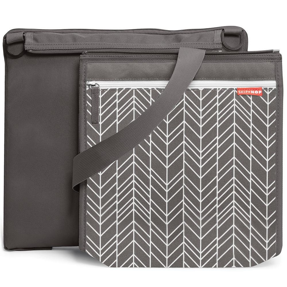 Skip Hop Central Park Outdoor Blanket Grey Feather
