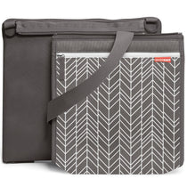 Skip Hop Central Park Outdoor Blanket Grey Feather - Cubox Australia