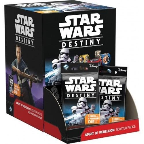 Star Wars Destiny - Spirit of Rebellion 36 Pack Booster Box - Cubox Australia