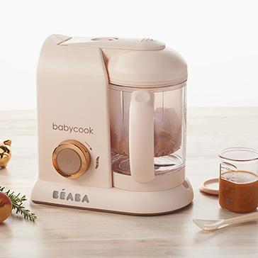 Beaba Babycook Solo baby food processor Rose Gold Macaron Collection - Limited Edition