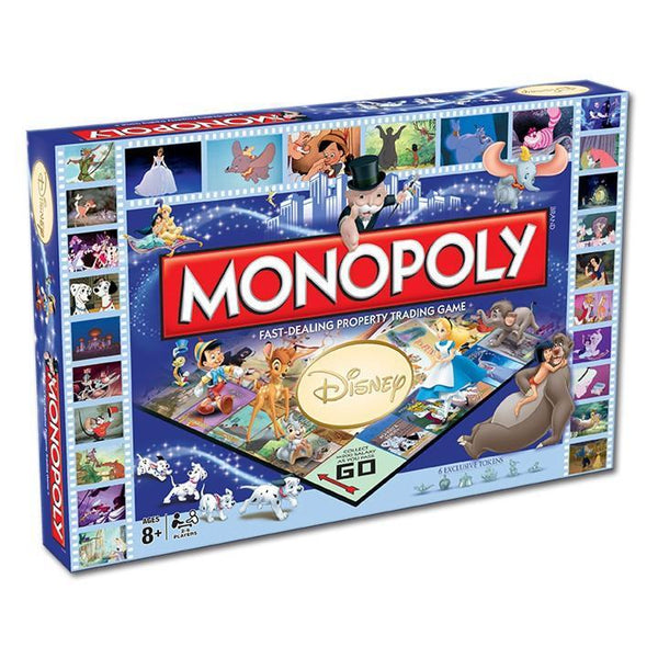 Disney Monopoly Board Game - Cubox Australia