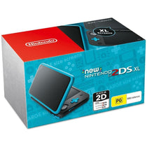 Nintendo 2DS XL Console Black Tourquoise - Cubox Australia