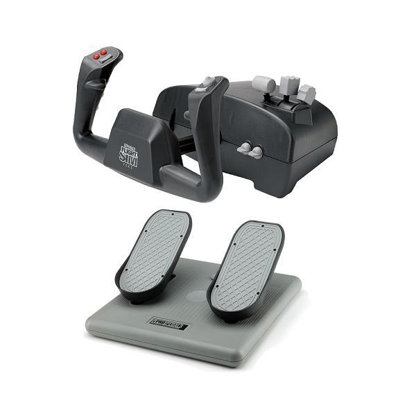 CH Products Aviator Pack For PC & Mac (Inc USB Yoke & Pedals)
