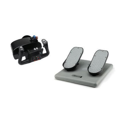 CH Products Racer Pack For PC & Mac (Inc USB Eclipse Yoke & Pedals) - Cubox Australia