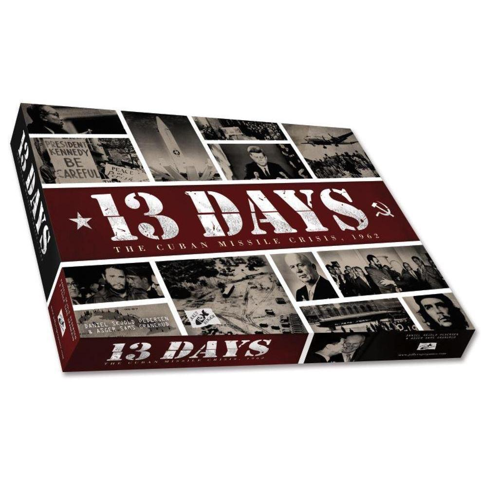 13 Days: The Cuban Missile Crisis Board Game - Cubox Australia