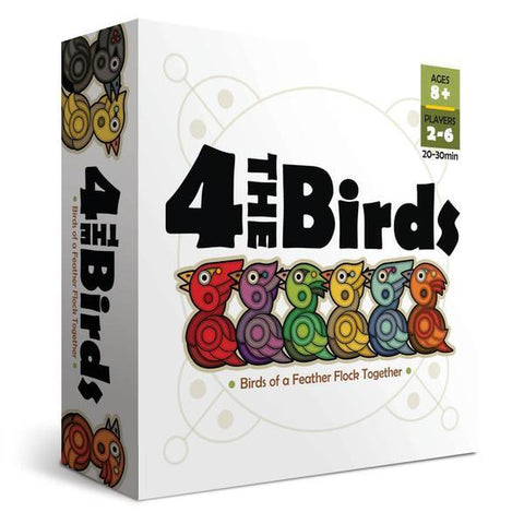 4 The Birds Board Game - Cubox Australia