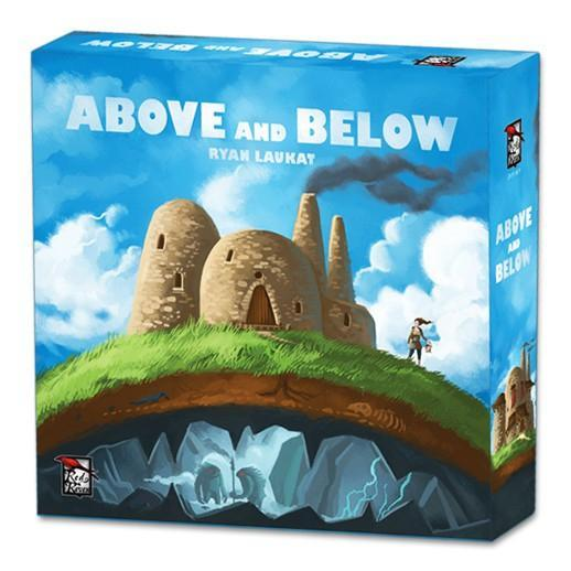 Above and Below Board Game - Cubox Australia