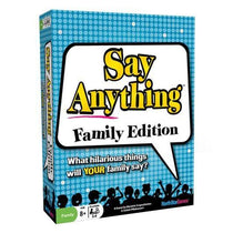 Say Anything Family Edition Board Game - Cubox Australia
