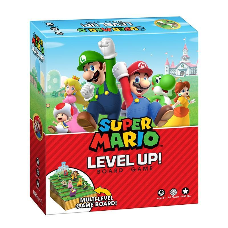 Super Mario Level Up Board Game - Cubox Australia